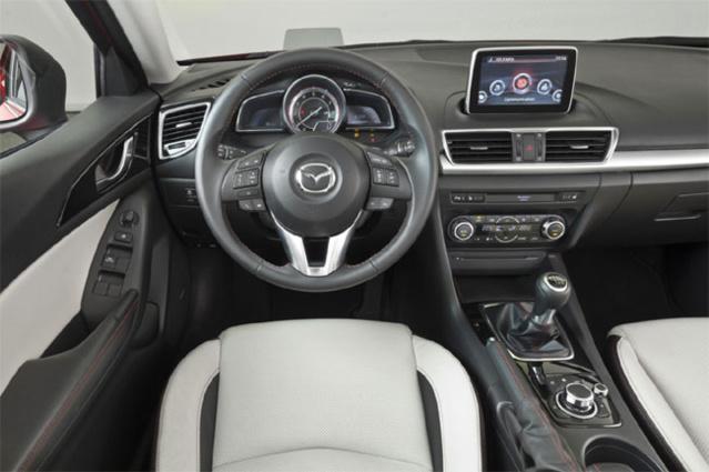 Intérieur Mazda 3