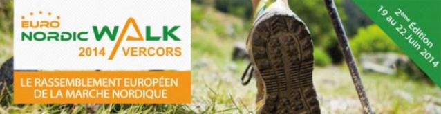 La marche nordique : à découvrir lors de l'EuroNordicWalk Vercors 2014