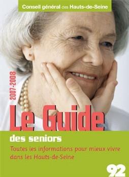 Le conseil général des Hauts-de-Seine édite un guide à destination des seniors