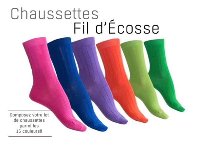 Missègle : des chaussettes Made in France toute l'année !