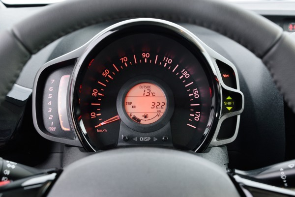 Toyota Aygo tableau de bord