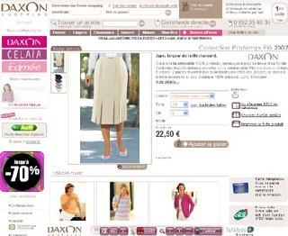 Site Internet de DAXON