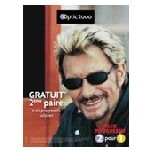 France - Johnny Hallyday & Optic 2000, nouvelle campagne sur la presbytie en octobre prochain