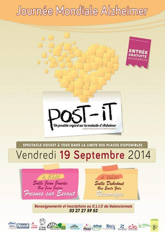 Valenciennes : Post-it, une pièce de théâtre sur la maladie d'Alzheimer