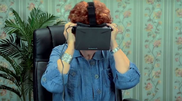 Oculus Rift et les seniors