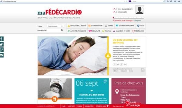 Mafedecardio : lancement de la première plateforme personnalisée sur la santé cardiaque