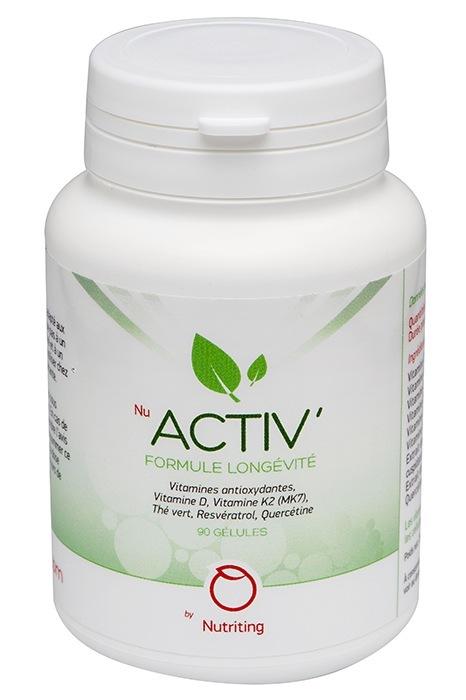 NuActiv' : un complément alimentaire pour favoriser le « bien vieillir »