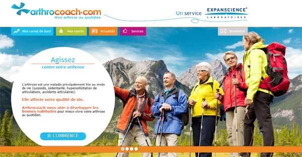Arthrocoach.com : site Internet gratuit pour vivre avec de l'arthrose