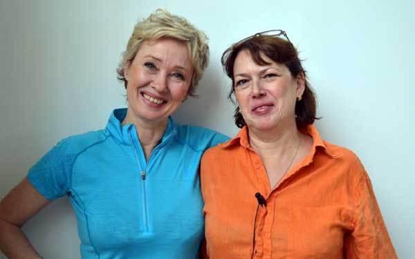 Nadine Ker Amel à droite