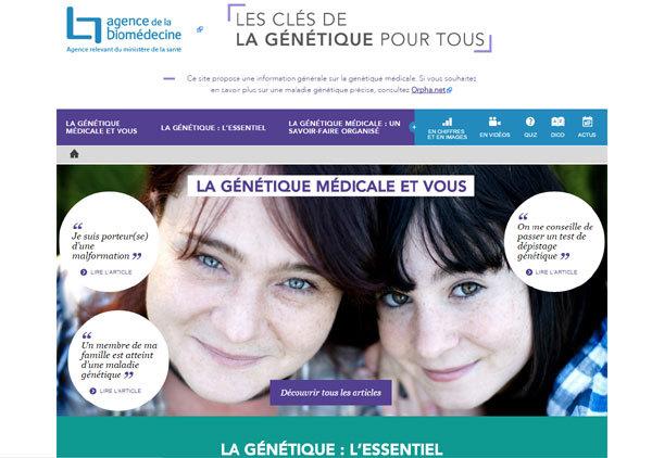 Genetique-medicale.fr : tout ce que vous avez toujours voulu savoir sur la génétique