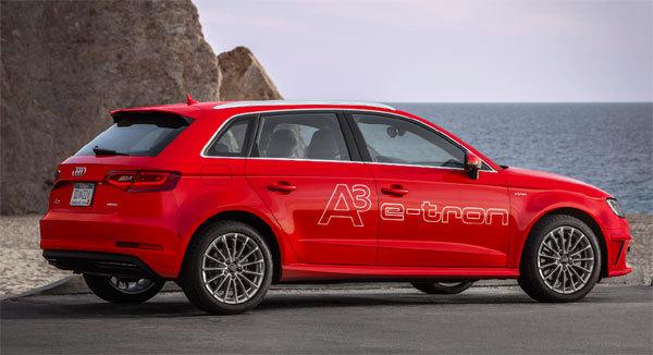 Audi A3 E-TRON : l'hybride avec élégance