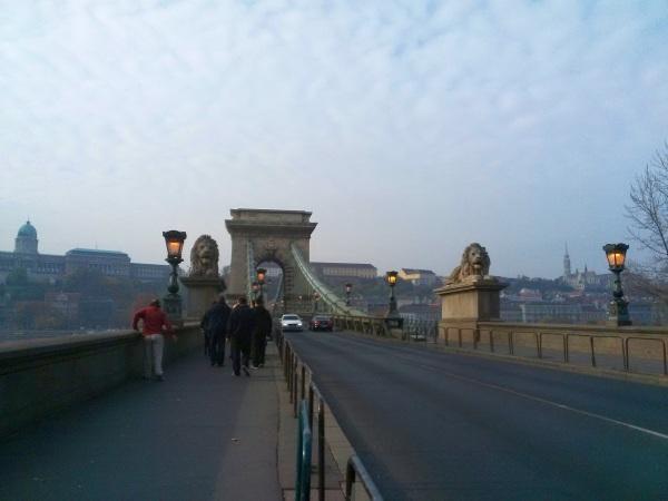 Le pont des Chaines, Budapest