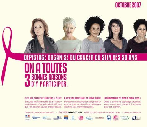 Cancer du sein : mois rose