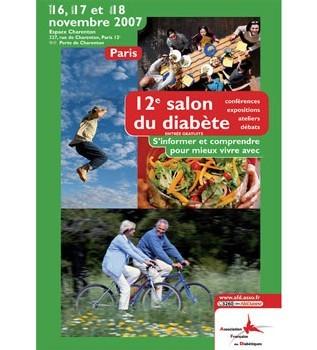 Salon du diabète : 12ème édition du 16 au 18 novembre prochains à Paris