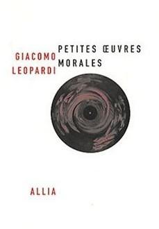 Petites œuvres morales de Giacomo Léopardi : c'est le jour et l'ennui