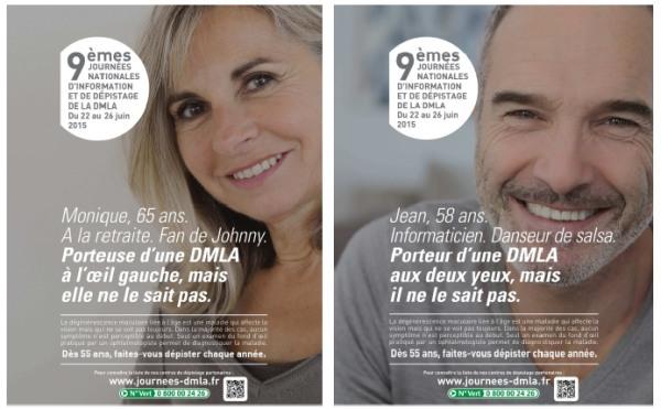 DMLA : faites-vous dépister dès 55 ans !