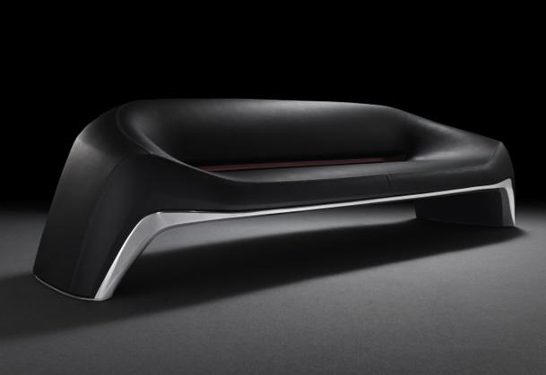 La banquette dessinée par le bureau de style Mazda