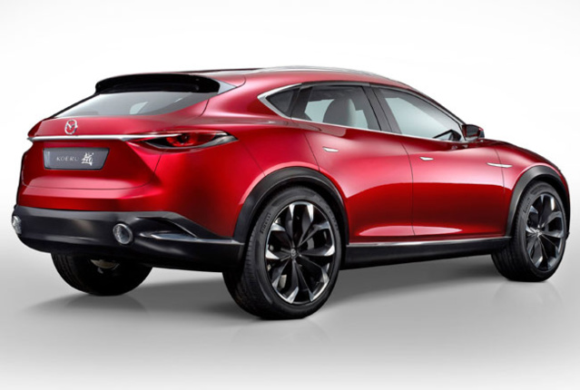 La Mazda KOERU fait ses débuts au salon automobile de Francfort