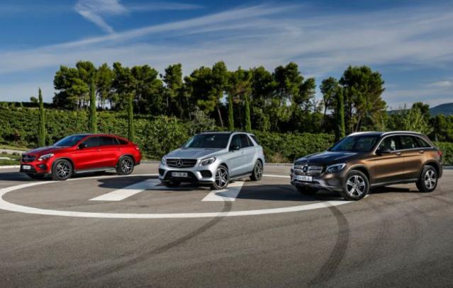 La nouvelle gamme de SUV de Mercedes Benz, il ne manque que le GLS