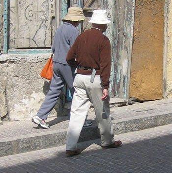 Marche rapide et jogging en alternance pour le bien-être et la santé