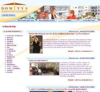 Blog Domitys de Châteauroux