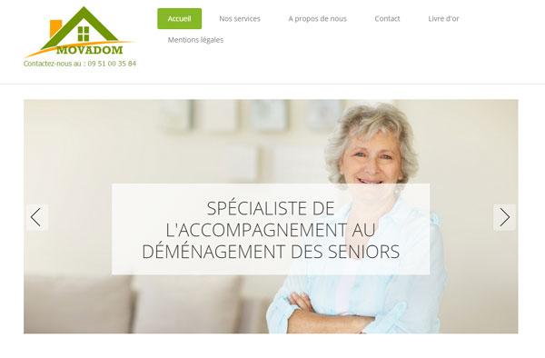 """Movadom : une société de déménagement spécialisée """"senior"""""""