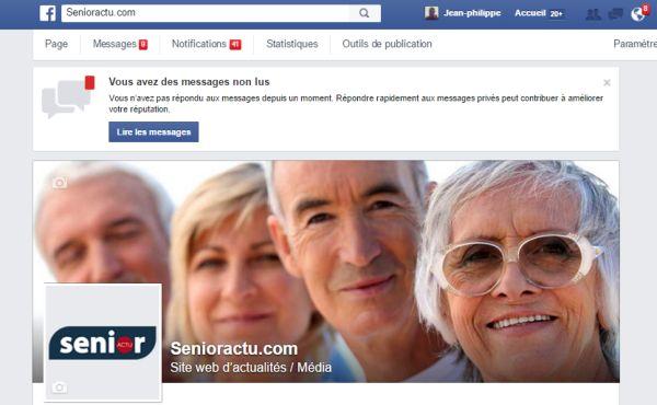 De plus en plus de seniors sur les réseaux sociaux