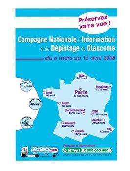 4ème campagne nationale de dépistage du Glaucome à partir du 6 mars