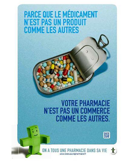 Campagne de com' : le médicament n'est pas un produit comme un autre