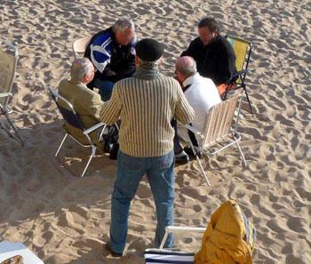 En vacances, les seniors anglais sont trop turbulents et consomment trop d'alcool