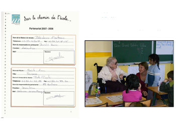 Médica France renforce ses échanges intergénérationnels avec les écoles et centres de loisirs