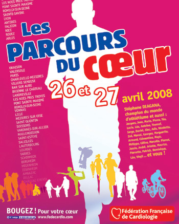Les Parcours du Cœur les 26 et 27 avril dans toute la France pour bouger et protéger son cœur