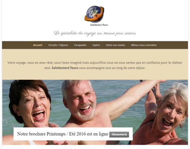 SoloSeniorsTours : agence de voyage pour seniors seuls