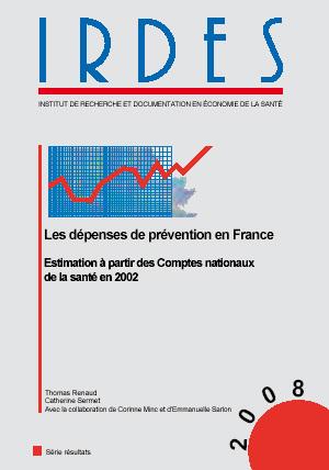 Les dépenses de prévention en France, nouvel ouvrage de l'Irdes