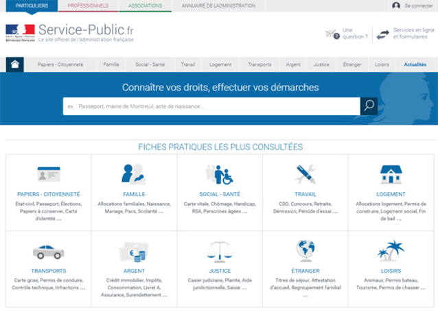 Services publics en ligne : des règles pour faciliter l'accès aux ainés
