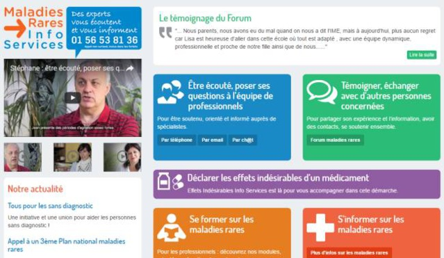 Initiative : sensibilisation aux malades sans diagnostic