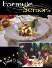 Des « formules seniors » dans certains restaurants d'Alsace