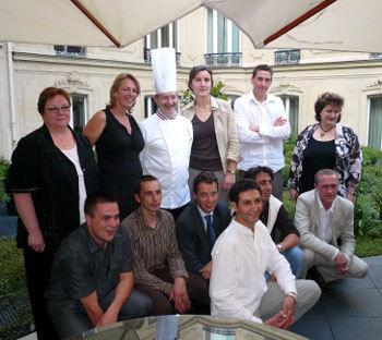 Concours culinaire DomusVi : le chef Adrien Levionnois d'Avon remporte le trophée 2008