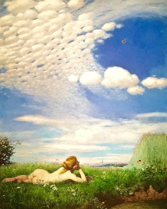 L'Alouette (1882) de Pal Szinyei Merse