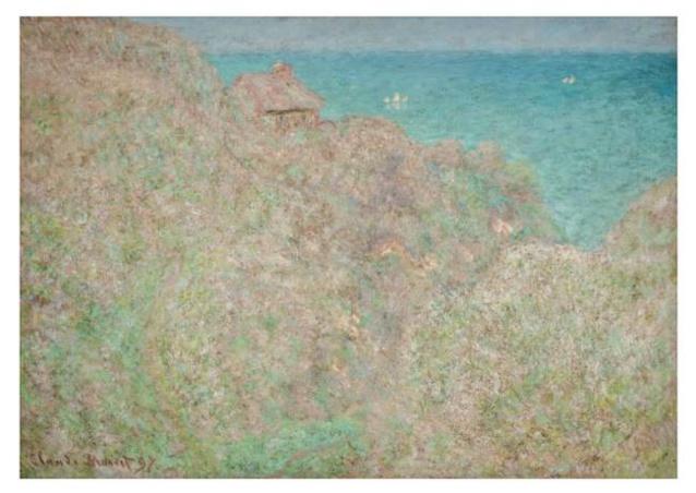 Claude Monet (1840-1926) Falaises à Varengeville dit aussi Petit-Ailly, Varengeville, plein soleil,1897, DR