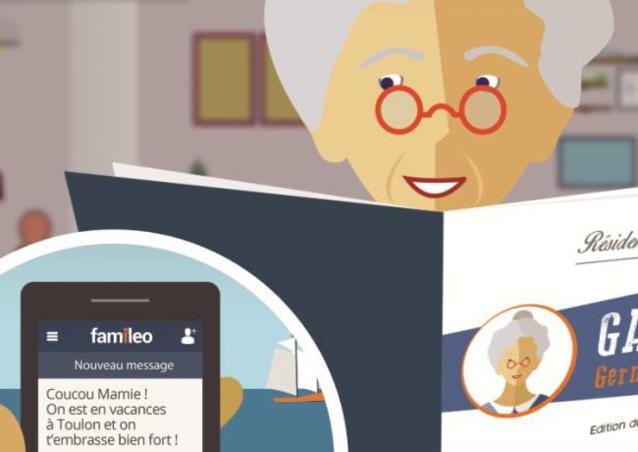 Famileo : réseau social pour favoriser les échanges entre familles et ainés