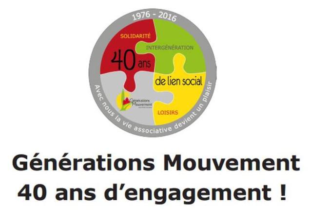 13 septembre 2016 : Générations Mouvement fête ses 40 ans