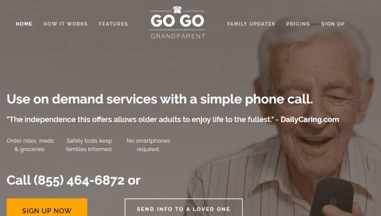 Gogograndparent : transport à la demande pour seniors sans smartphones