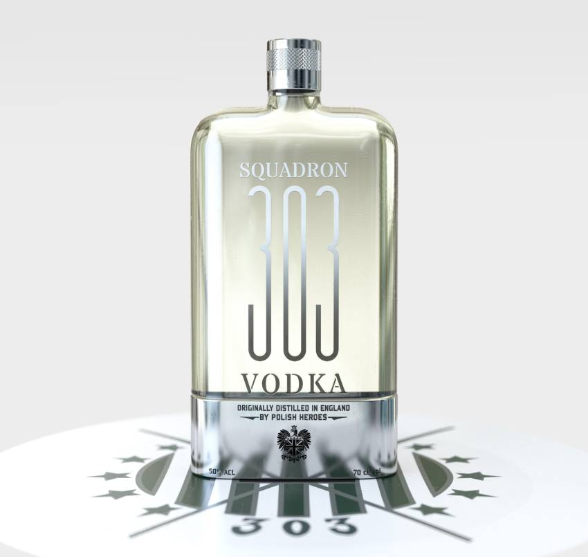 303, la vodka anglaise d'inspiration polonaise