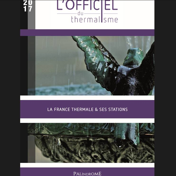 Sortie de l'Officiel du Thermalisme 2017