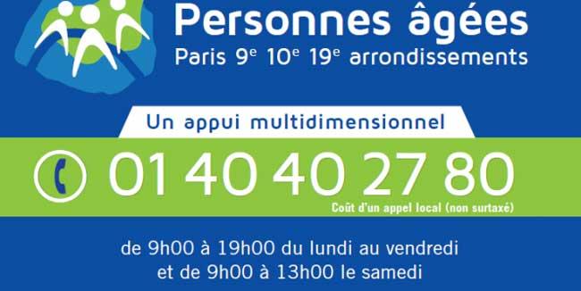 Paris : ouverture d'une maison des ainés dans le 10ème arrondissement