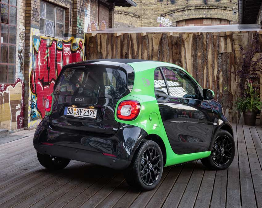 smart fortwo electric drive pure citadine. Black Bedroom Furniture Sets. Home Design Ideas