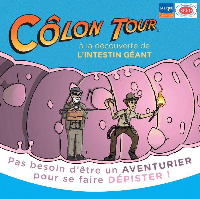 Côlon Tour 2017 : lutter contre le cancer du côlon dans toute la France