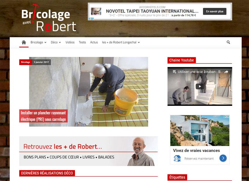 """Bricolage avec Robert : le """"Monsieur Bricolage"""" senior du web"""