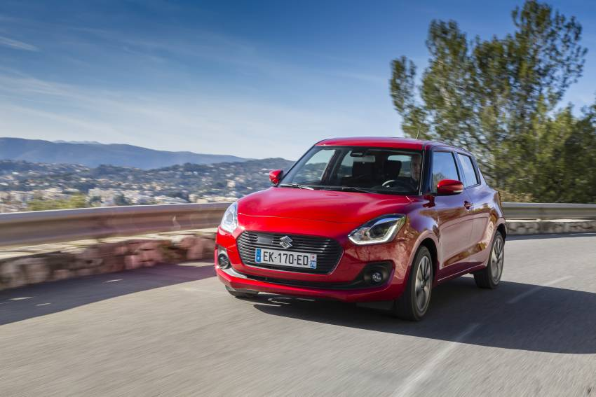 Suzuki Swift 1.0 Boosterjet SHVS : un design réussi